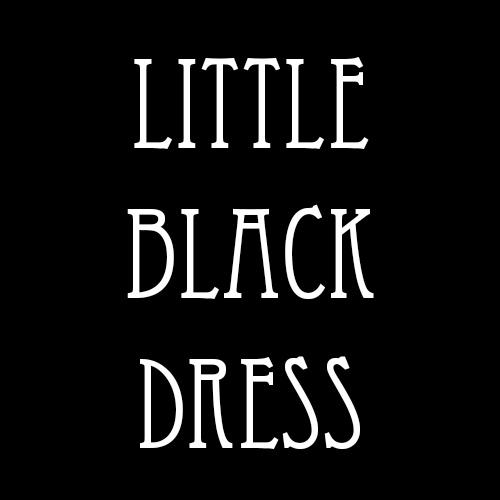 Repair, reuse, repurpose that little black dress.