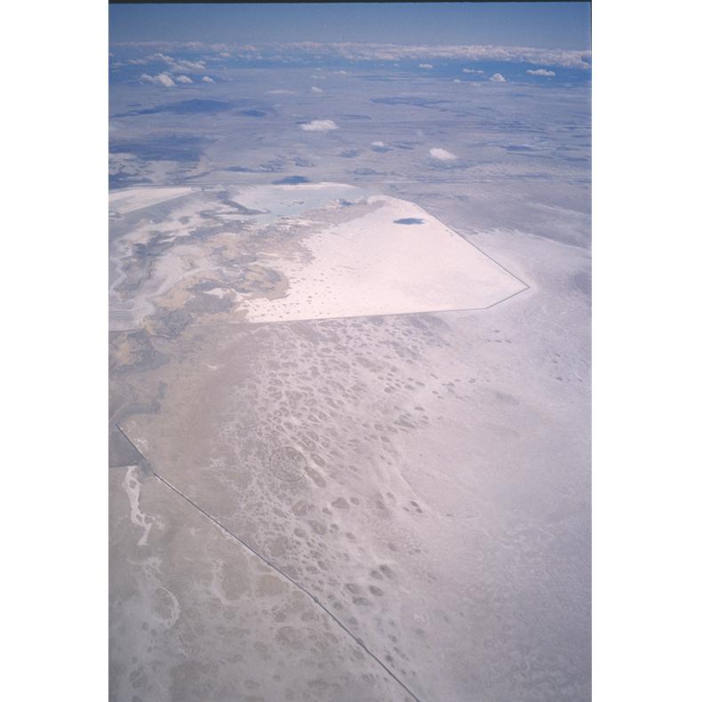 #23 Near Salt Lake, Utah , 2000, original 35mm slide digitized (on an Imacon scanner), dimensions variable