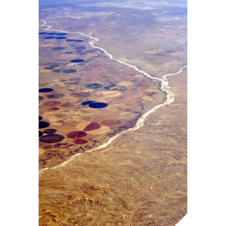 In the West , 2000, original 35mm slide digitized, dimensions variable