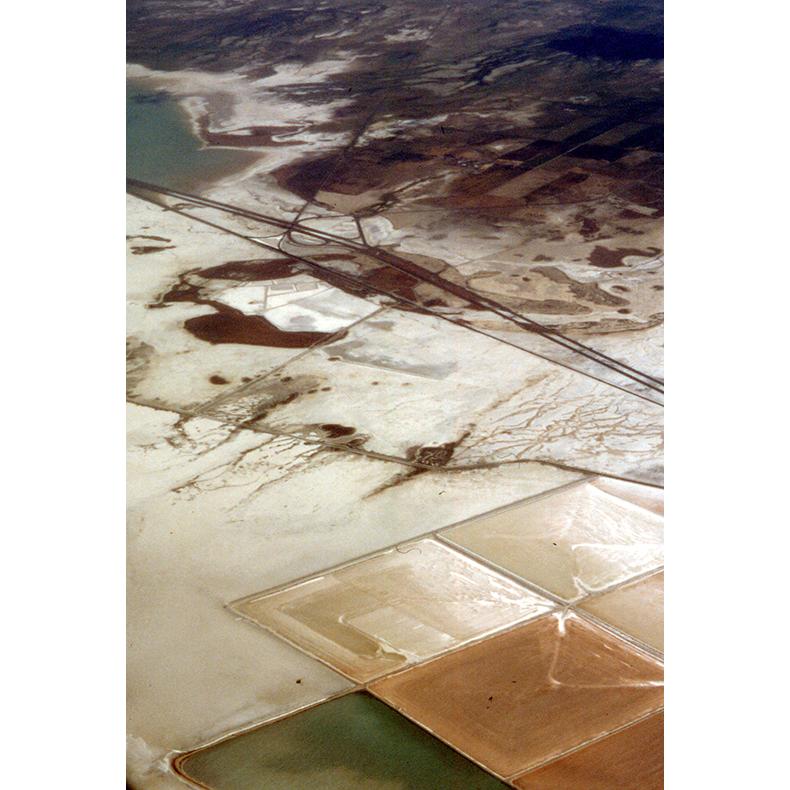 Near Salt Lake City , 2000, original 35mm slide digitized (on an Imacon scanner), dimensions variable
