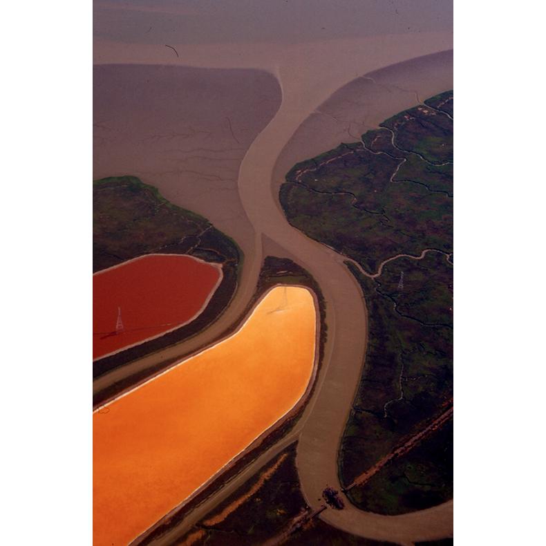 San Francisco (Old Morton Salt Ponds), 2000, original 35mm slide digitized (on an Imacon scanner), dimensions variable