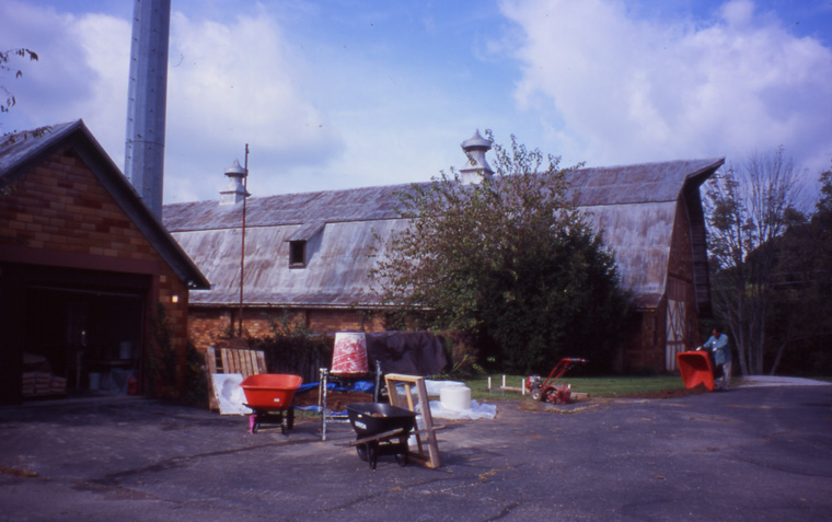 Studio at Mary Anderson Center for the Arts, Mt. St. Francis, IN, 2003