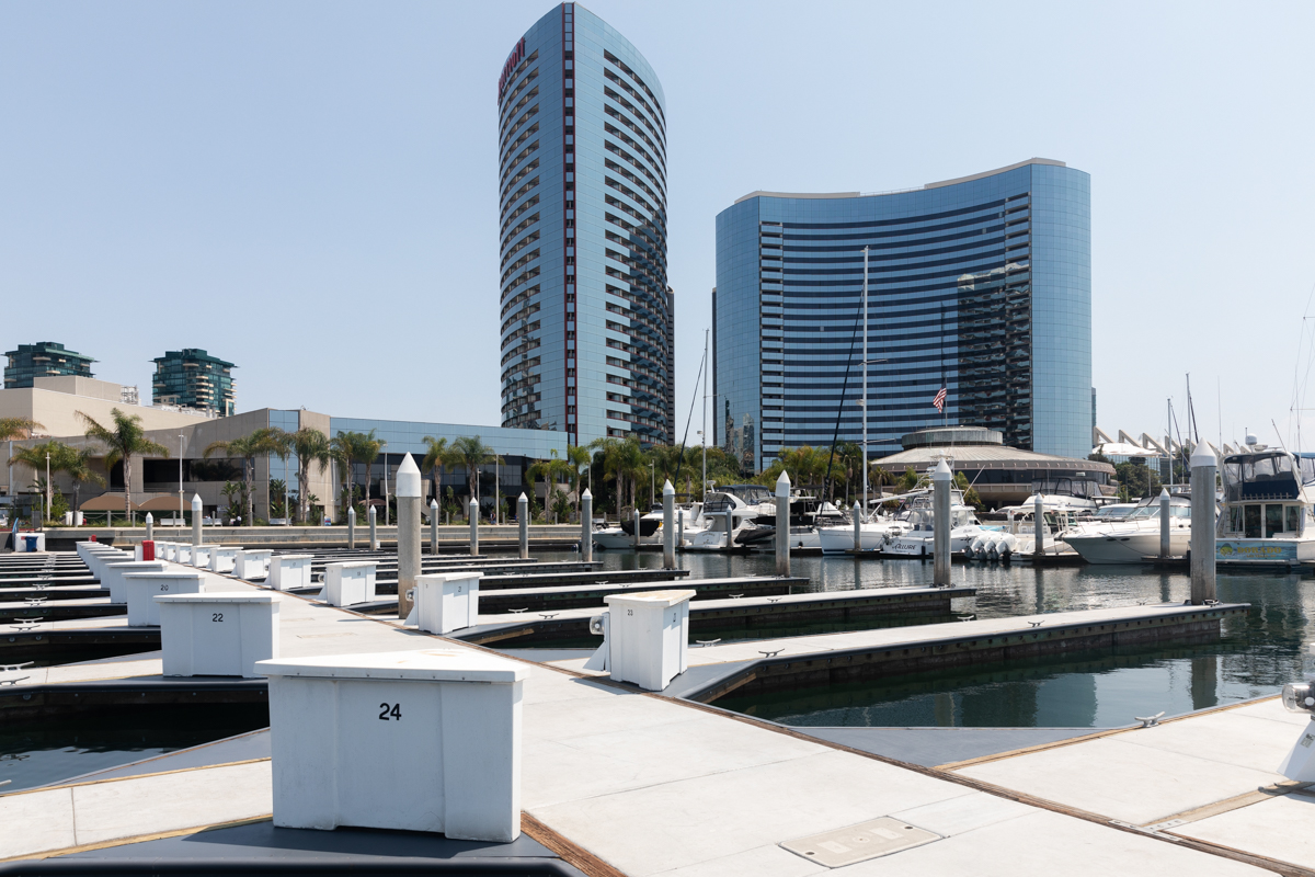 Marriott Marquis Marina in San Diego, California