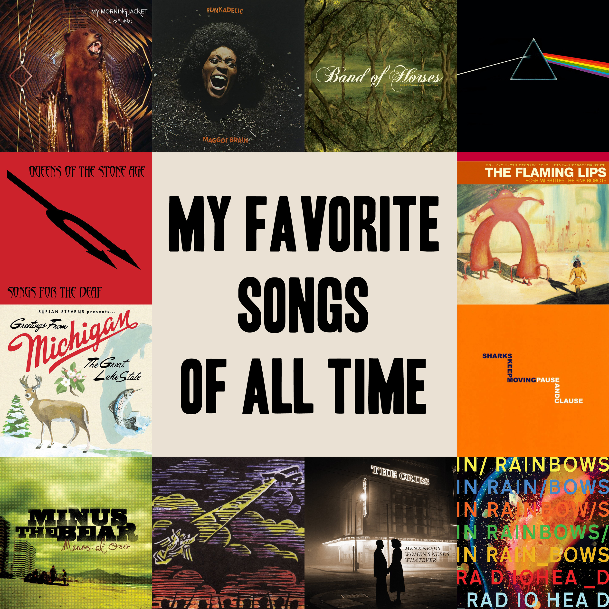 My Favorite Songs of All Time — Swim Into The Sound