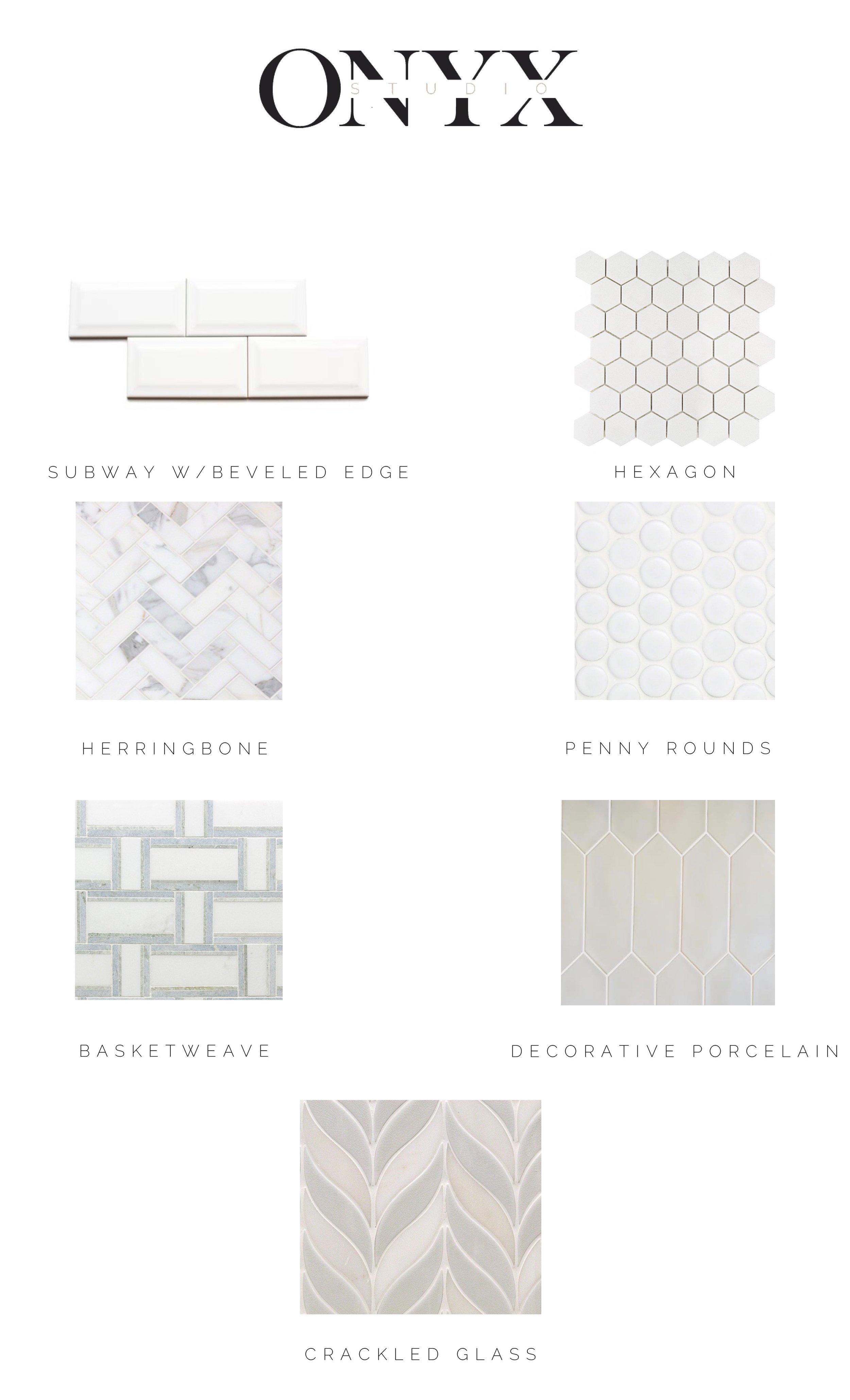 Favorite alternatives to subway tile