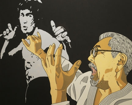 october 7, 2016 - january 14, 2017 - roger shimomura: an american knockoff