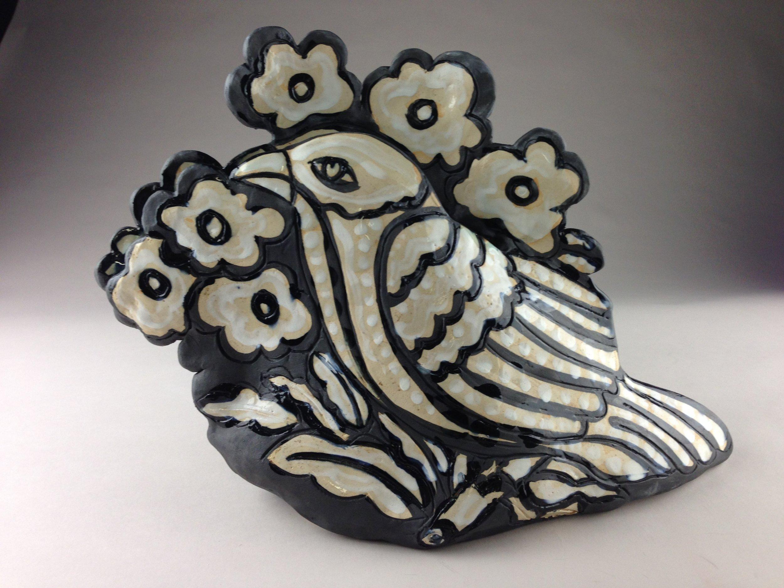 Paula Smith - Bird Pocket Vase.JPG