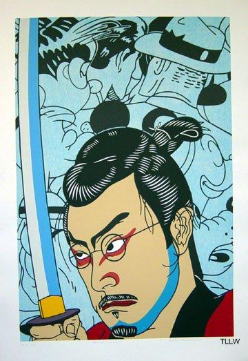 Kansas Samurai , 2004 Roger Shimomura