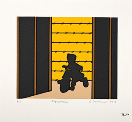 Minidoka Snapshots: Exploration , 2010 Roger Shimomura