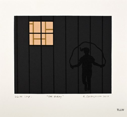 Minidoka Snapshots: The Enemy , 2010 Roger Shimomura