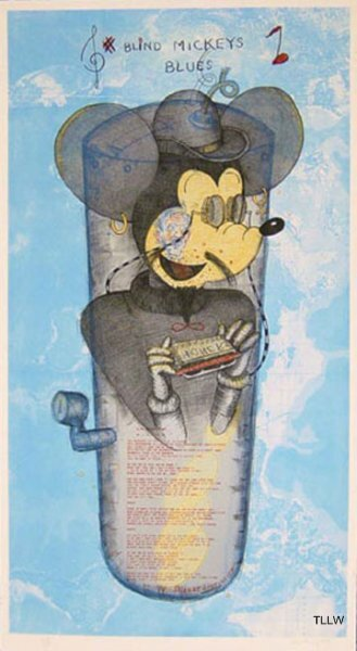 Blind Mickey's Blues , 1997 William T. Wiley
