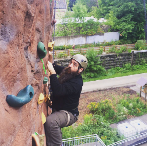 Nothing Holds Beardy Back. - Inspired to reach new heights...