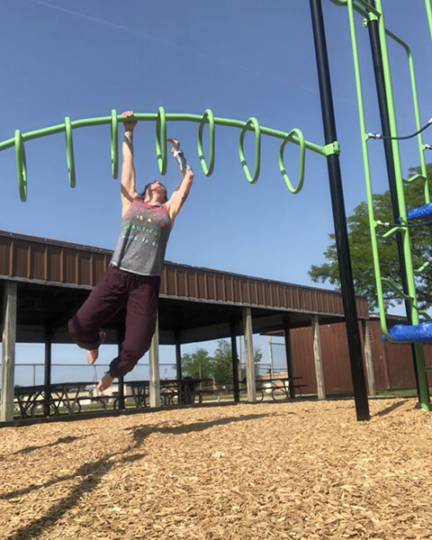 Calisthenics continue to be a huge part of my practice... Stop by and say hi if you see me at the playground!