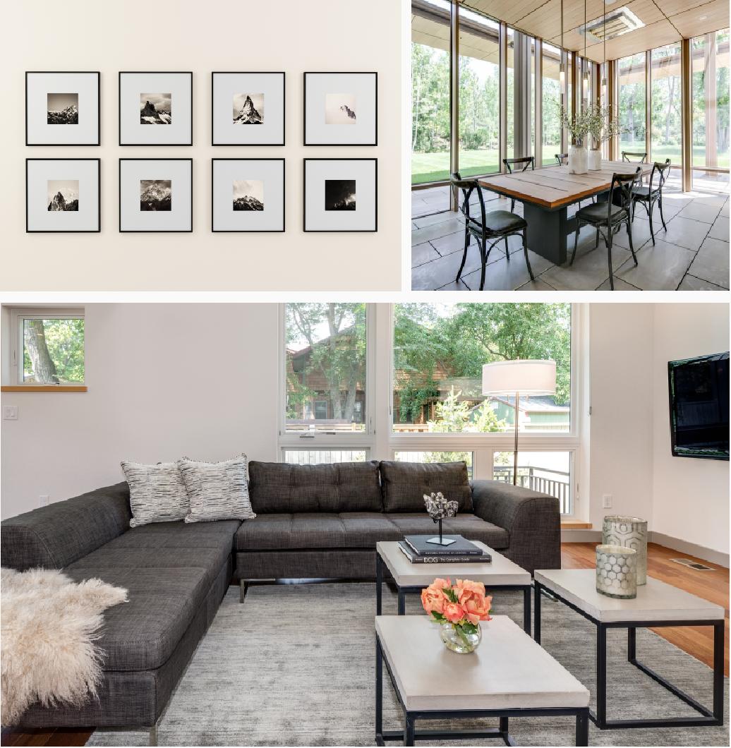 Interior Design Home Staging: Sarah Noel Interiors
