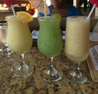 Tasty beverages hit the spot!