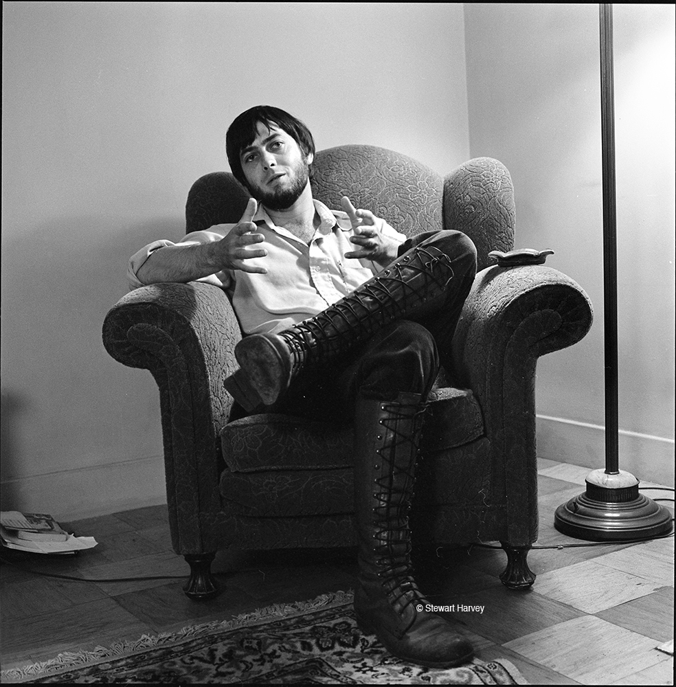 Larry, 1978 at Baker Street