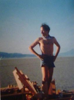 Dan in 1991