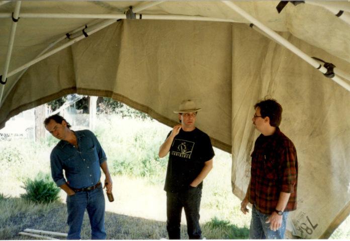 Chris, with Larry Harvey and Chris DeMonterrey