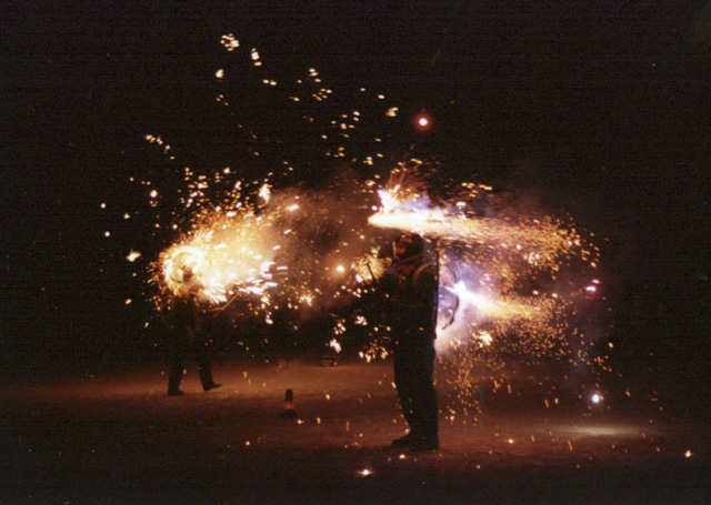 Incredible Exploding Couple