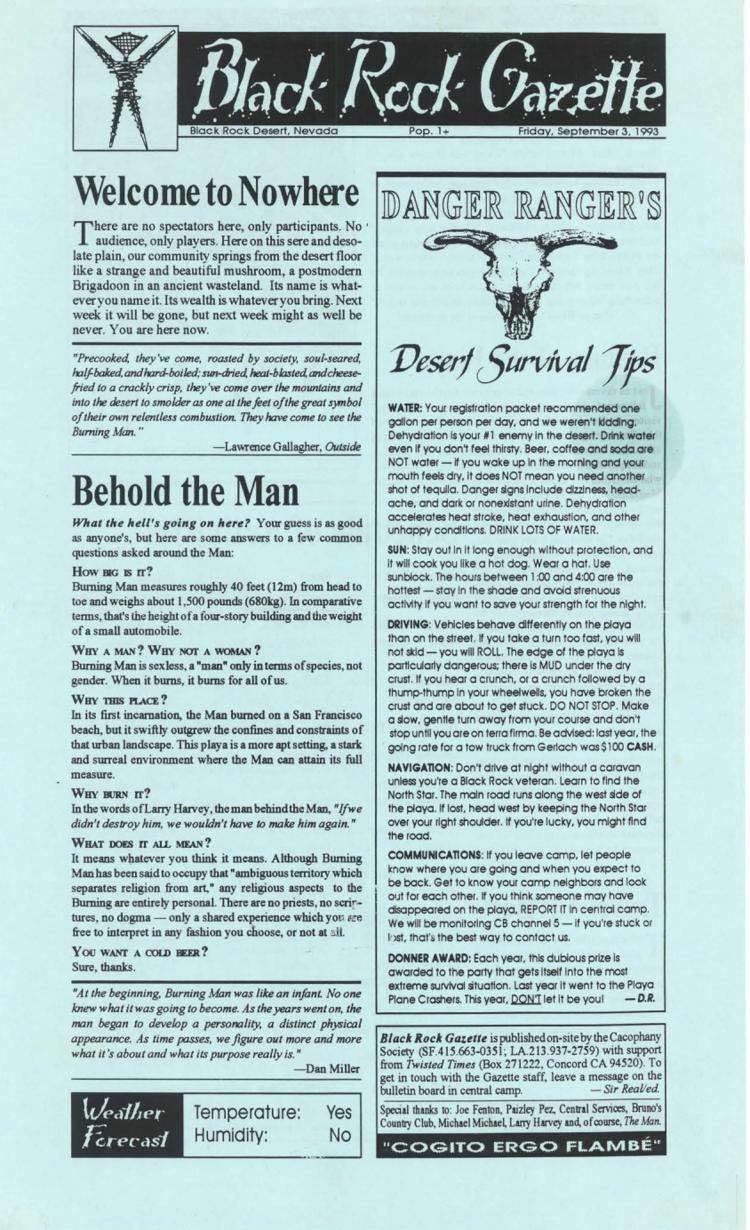 Black Rock Gazette
