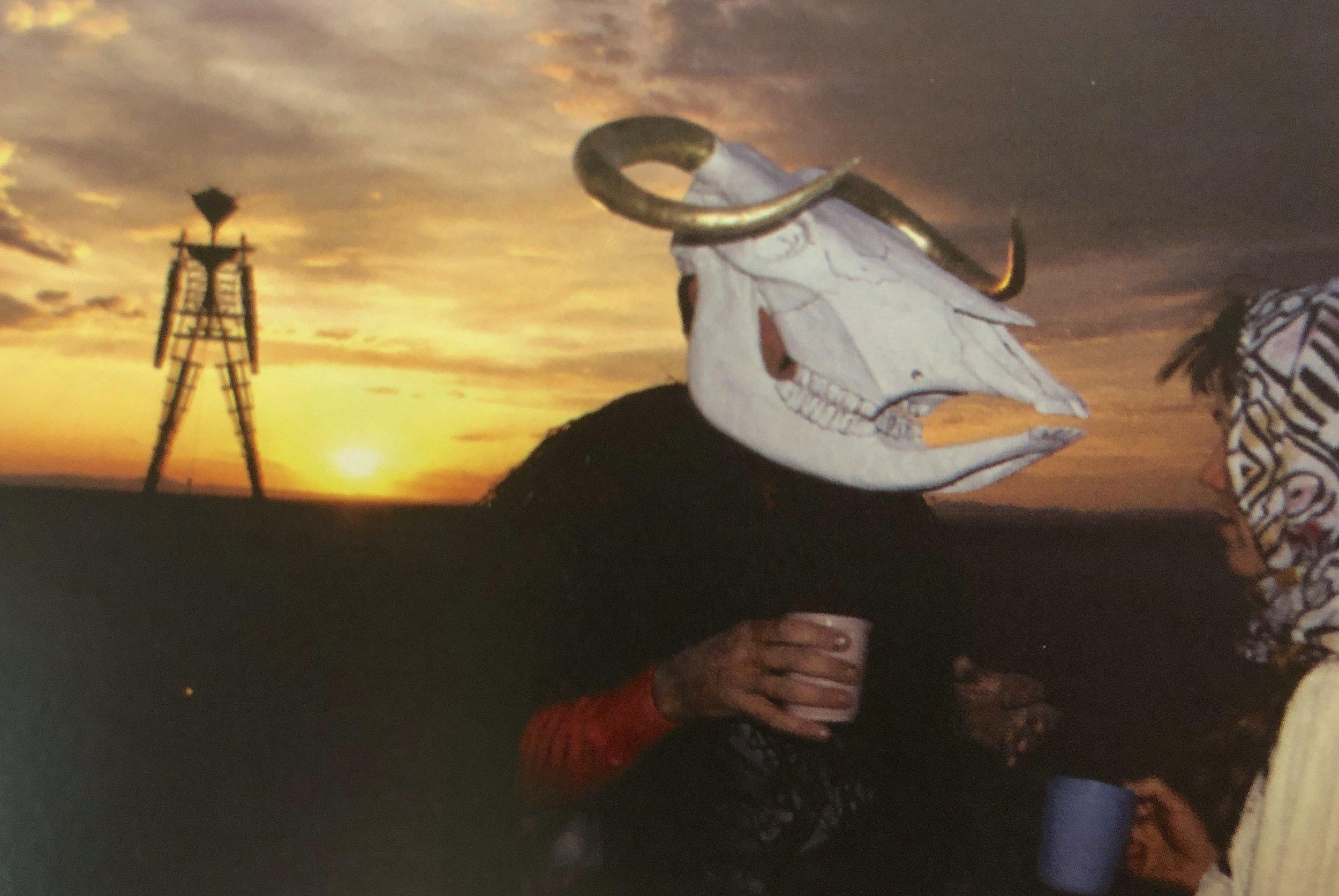 Java Cow - A Burning Man Ritual
