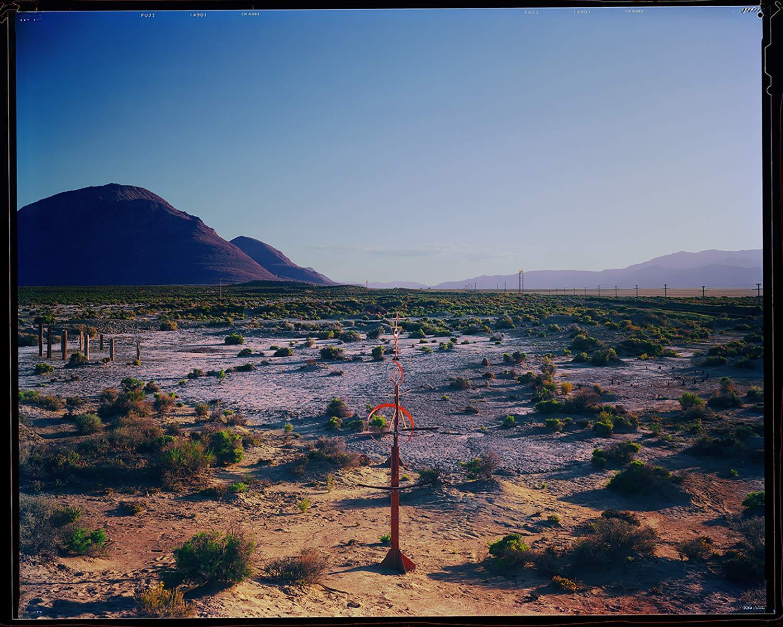 Survey Line of Desert Navigation Locators