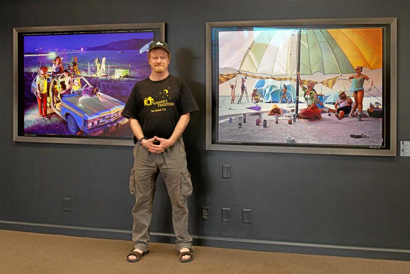 William Binzen - Brought Big Art to the Playa