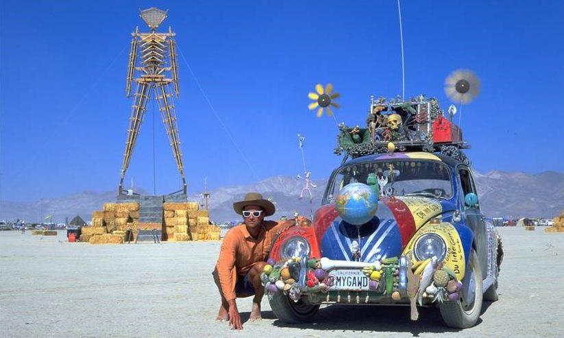 Harrod Blank and Oh My Gawd! Art Car, Burning Man 1993