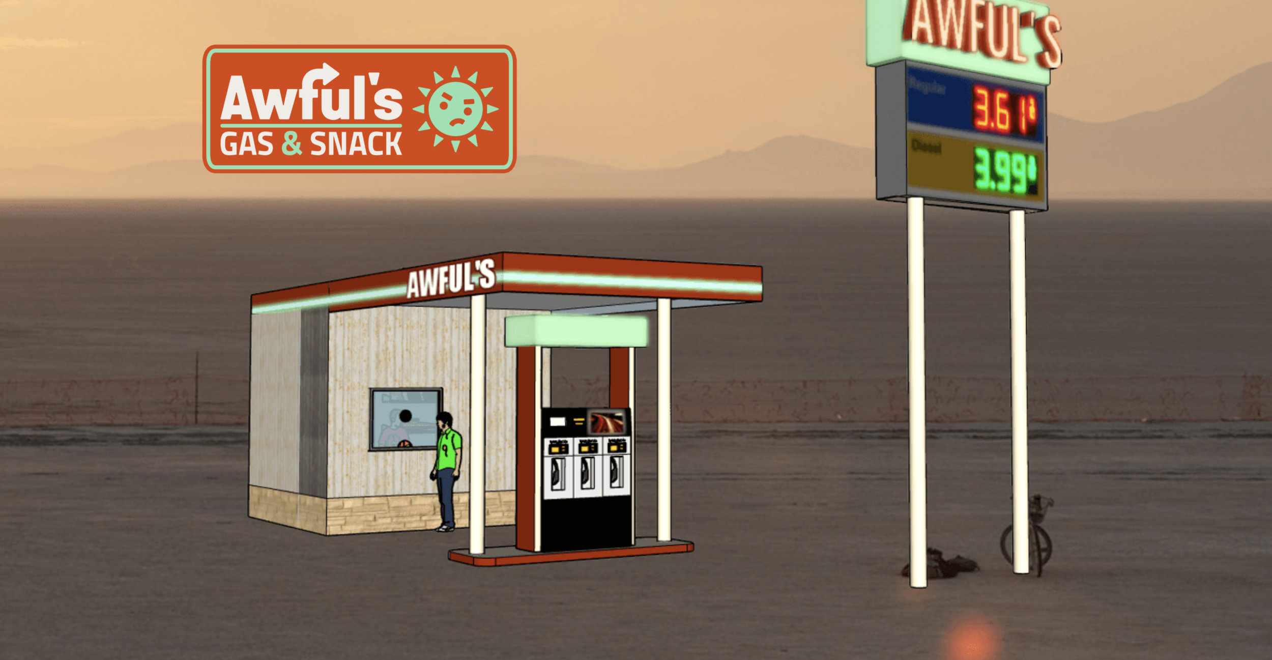 Matthew Gerring's Awful's Gas & Snack