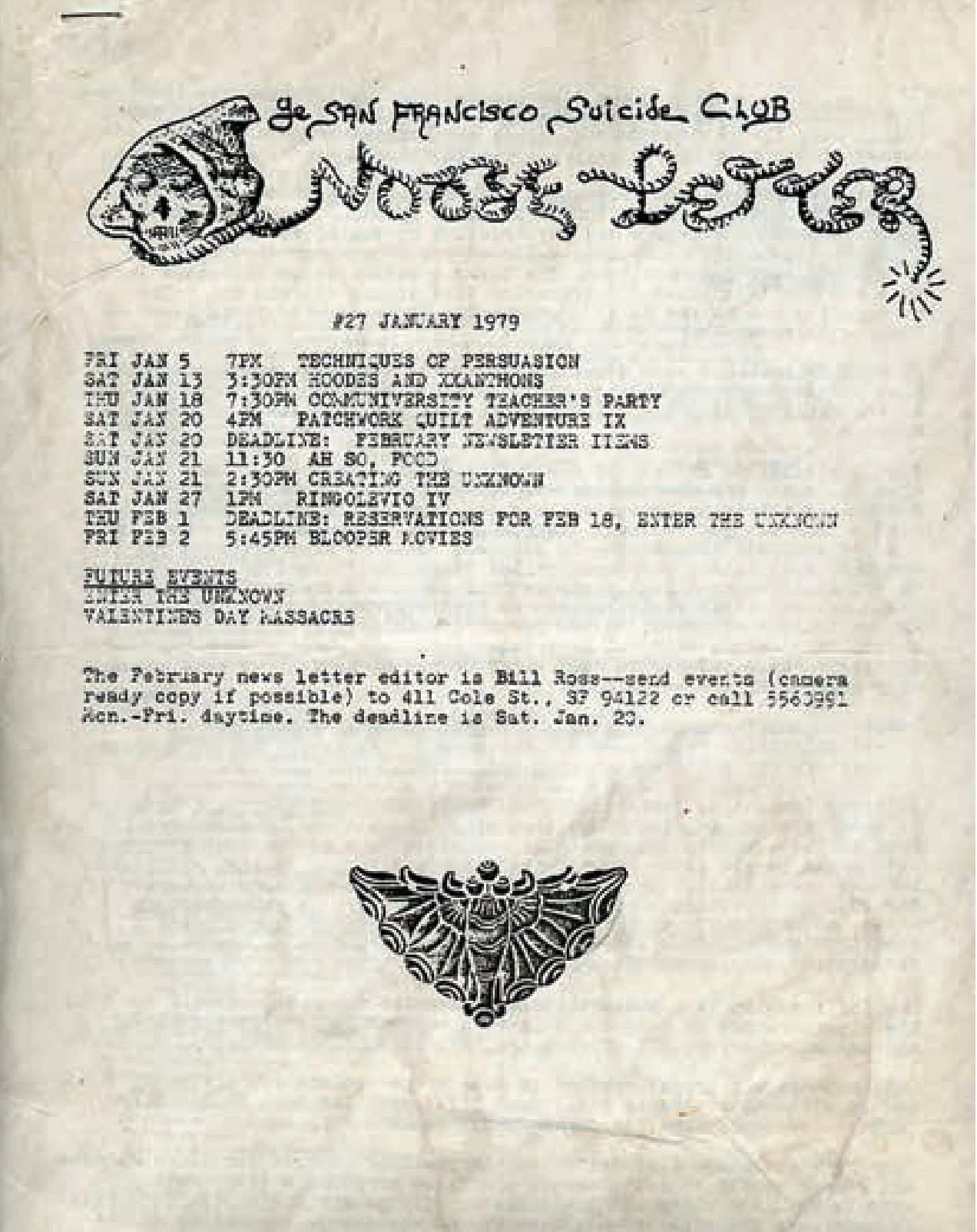 Visit the Suicide Club Website Archive -