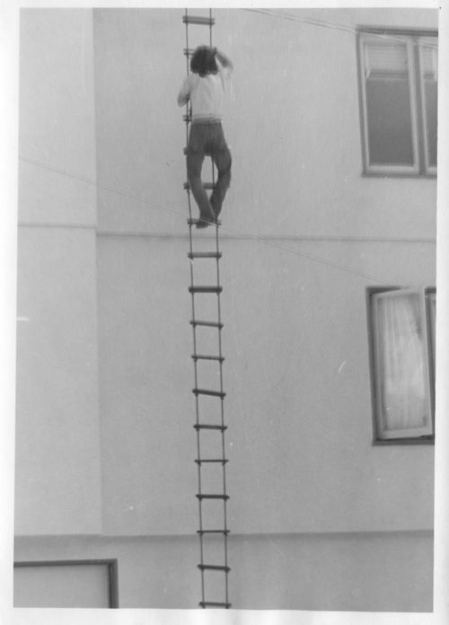 John Law Discusses Building Rope Ladder -