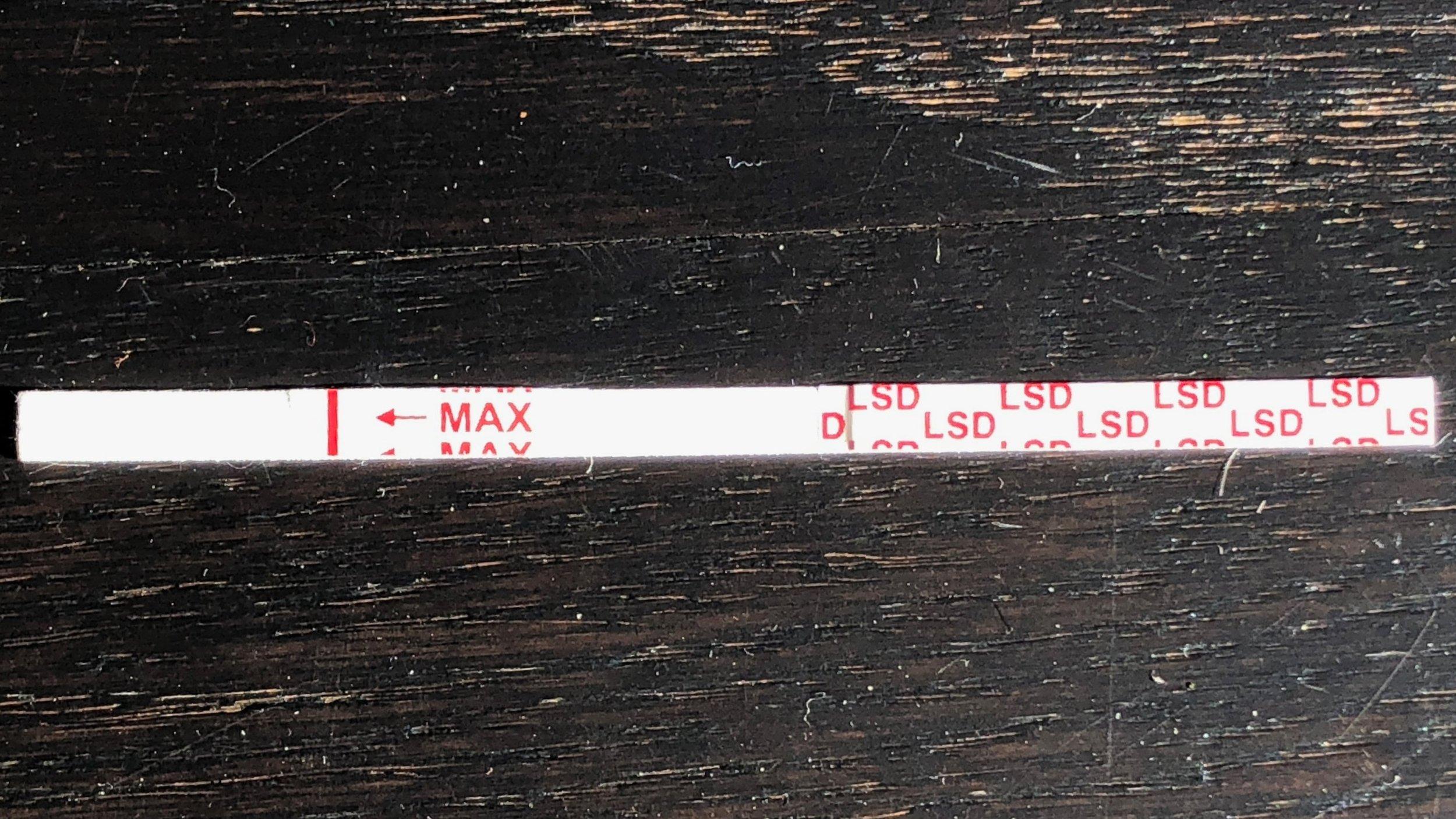 Unused stick