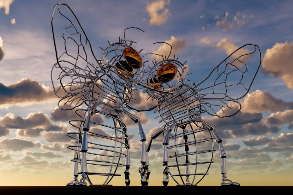 Andrea Greenleess Bee Dance, artist's rendition