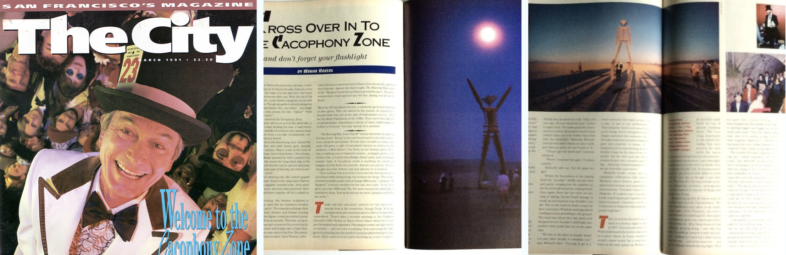 - Cacophony in the City Magazine