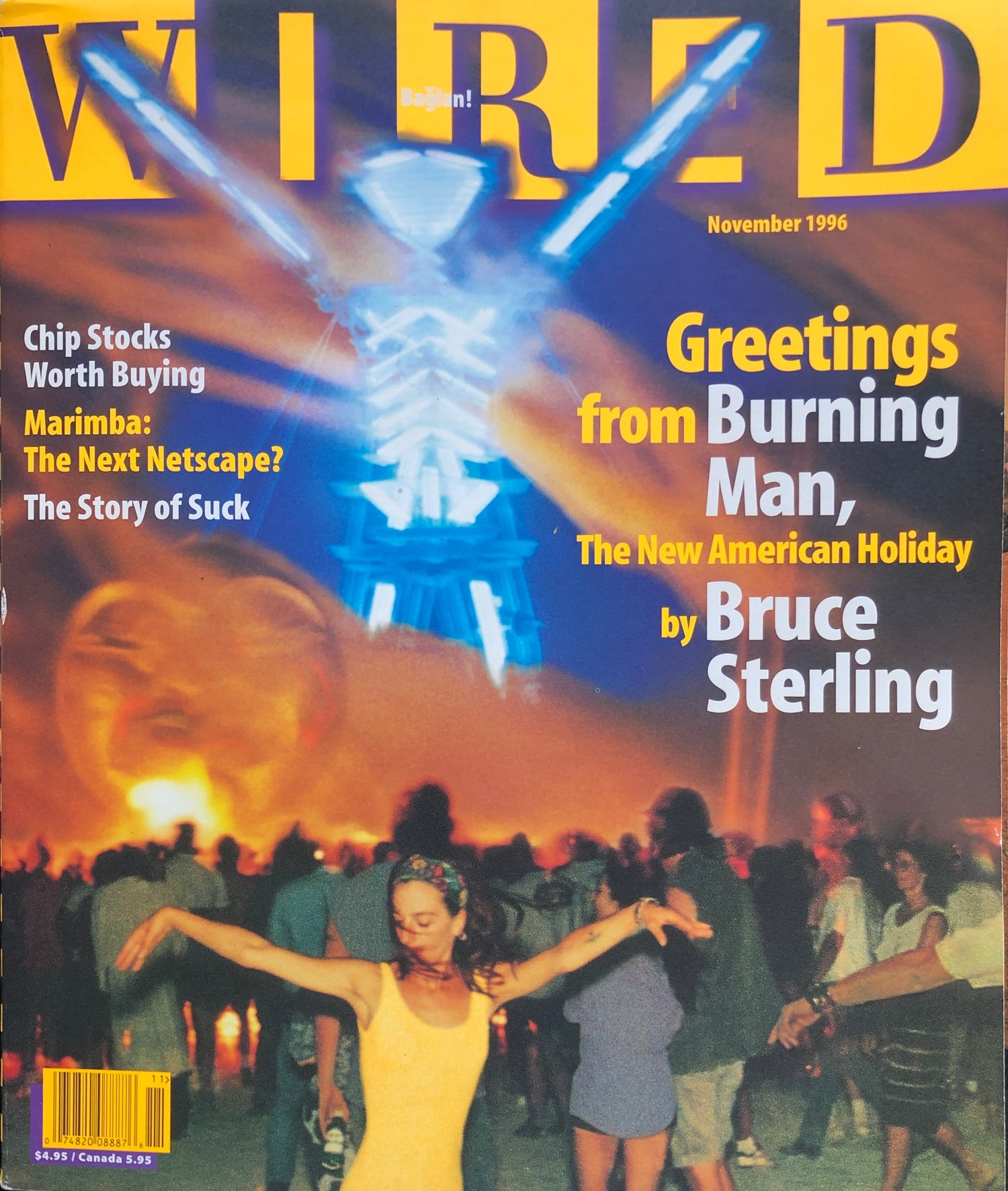 Wired Article - The first in-depth coverage of Burning Man