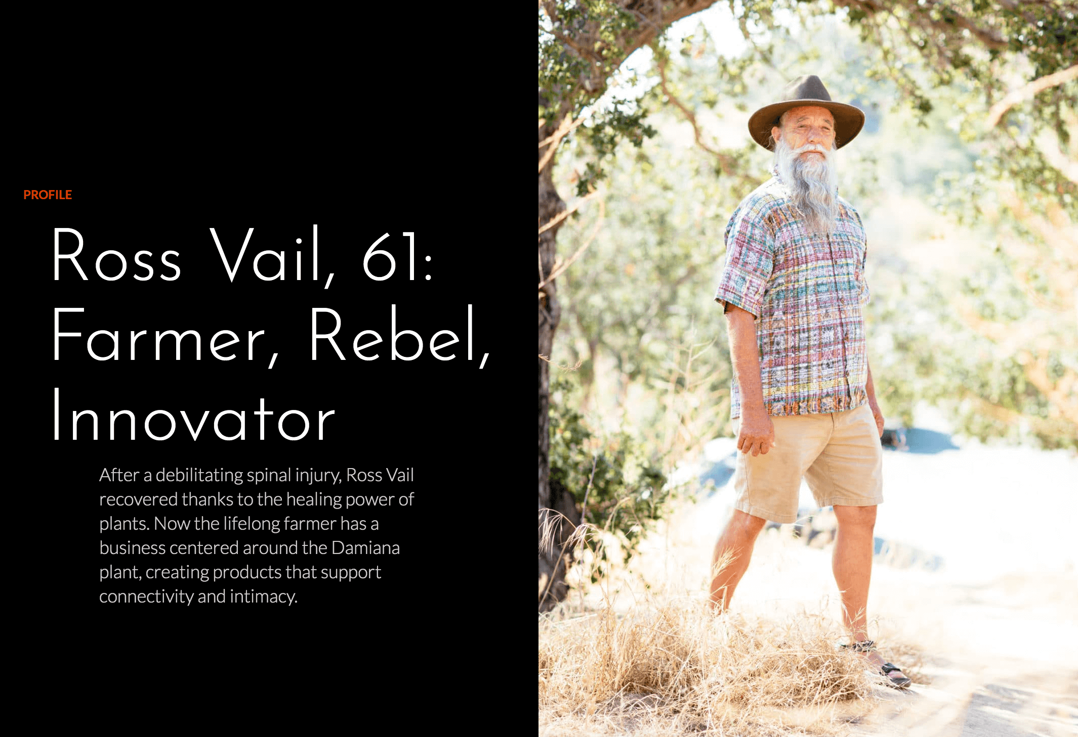 http://www.weareageist.com/profile/ross-vail-61-farmer-rebel-innovator/