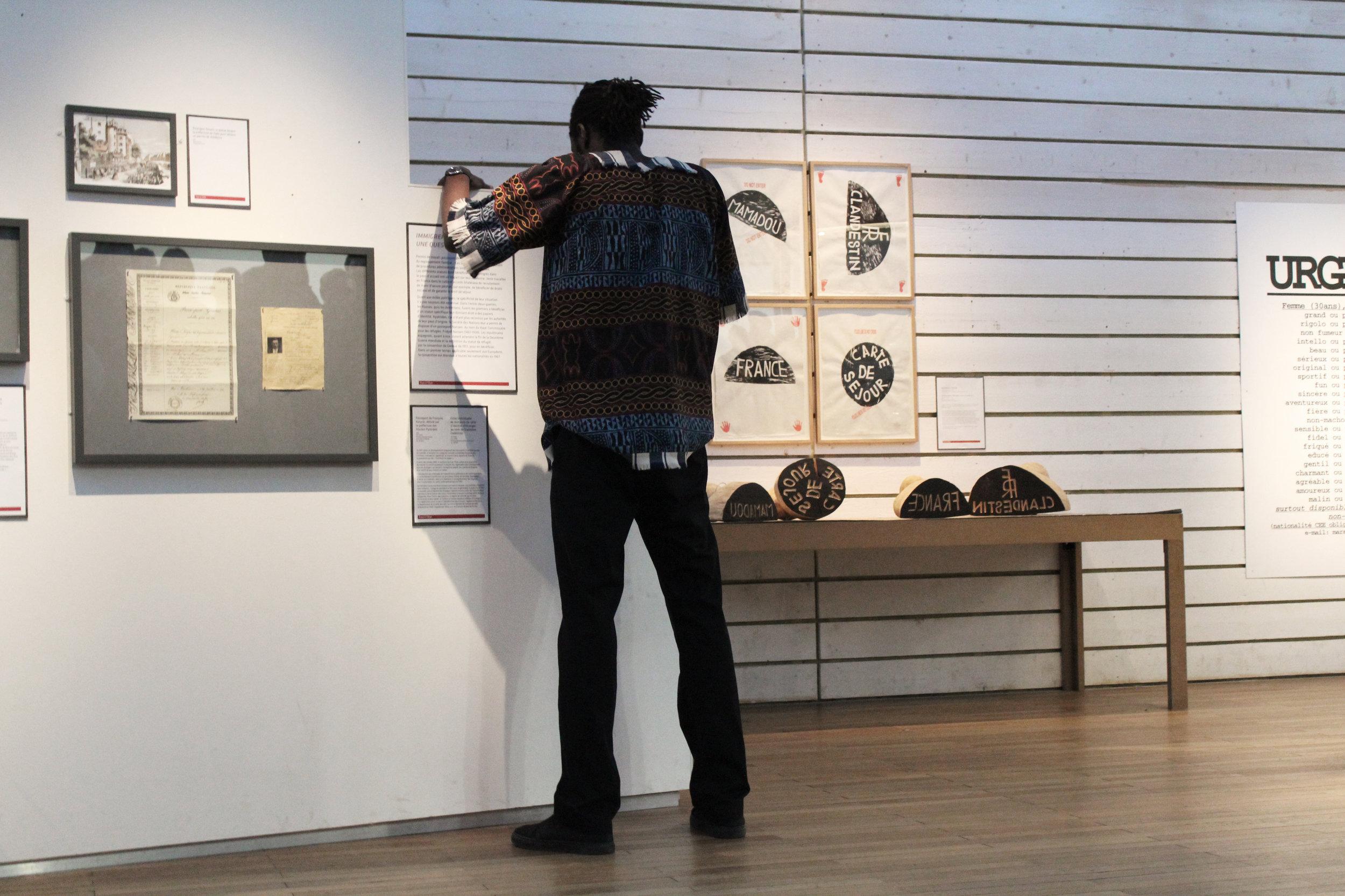 VISITES DANSÉES - DANS LES COLLECTIONS PERMANENTES « REPÈRES » MUSÉE NATIONAL DE L'HISTOIRE DE L'IMMIGRATION