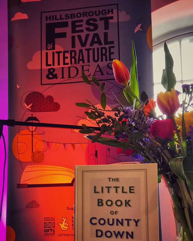 About to kick off the first event of this year's Festival in The Market Room, The Little Book of Co. Down book launch with Doreen McBride! #HBLitFest . . . . . . . #festival #books #northernireland #discoverni #reading #amreading #amwriting #writing