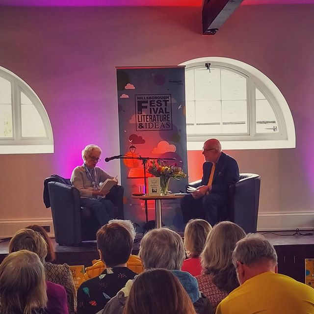 What a weekend! Over 30 fascinating events full of great prose, poetry, ideas and most importantly people. Thank you for being part of the 2019 Hillsborough Festival of Literature and Ideas! #HBLitFest . . . . . . . . #books #writing #festival #northernireland #discoverni #book #reading #amwriting #amreading #poetry #ideas #literature #music #katebush #home