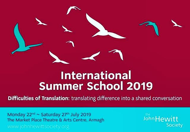 DEADLINE THIS MONDAY 10 JUNE!  Not long to go to apply for a bursary for our International Summer School happening next month! The community bursary scheme is an important aspect to our outreach programme. Feedback from attendees tells us that without it many would be unable to attend the Summer School.  Previous bursary students have gone on to become published writers, lead workshops, host live author events, invited to read at poetry and writing festivals, and work in the literary sector.  Read more via the link in the bio! #JHISS . . . . . . . #book #festival #poetry #literature #ideas #politics #music #family #hillsborough #lisburn #northernireland #discoverni #discussion #idea #books #reading #writing #amreading #amwriting #bbc #chefstable #photography