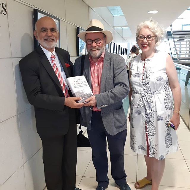 Congratulations to Malachy O'Doherty on his fantastic exhibition launch. Genuine pleasure to have you with us.  What an amazing Summer School so far... #JHISS . . . . . . #book #festival #poetry #literature #ideas #politics #music #family #armagh #northernireland #discoverni #discussion #idea #books #reading #writing #amreading #amwriting #bbc #photography