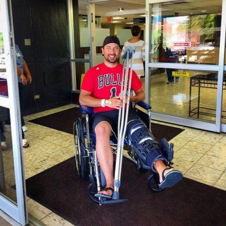 David Hardin - rehabilitation lower back from motorcycle accident