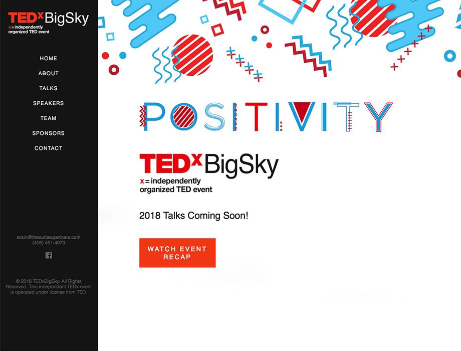 TEDX BIG SKY