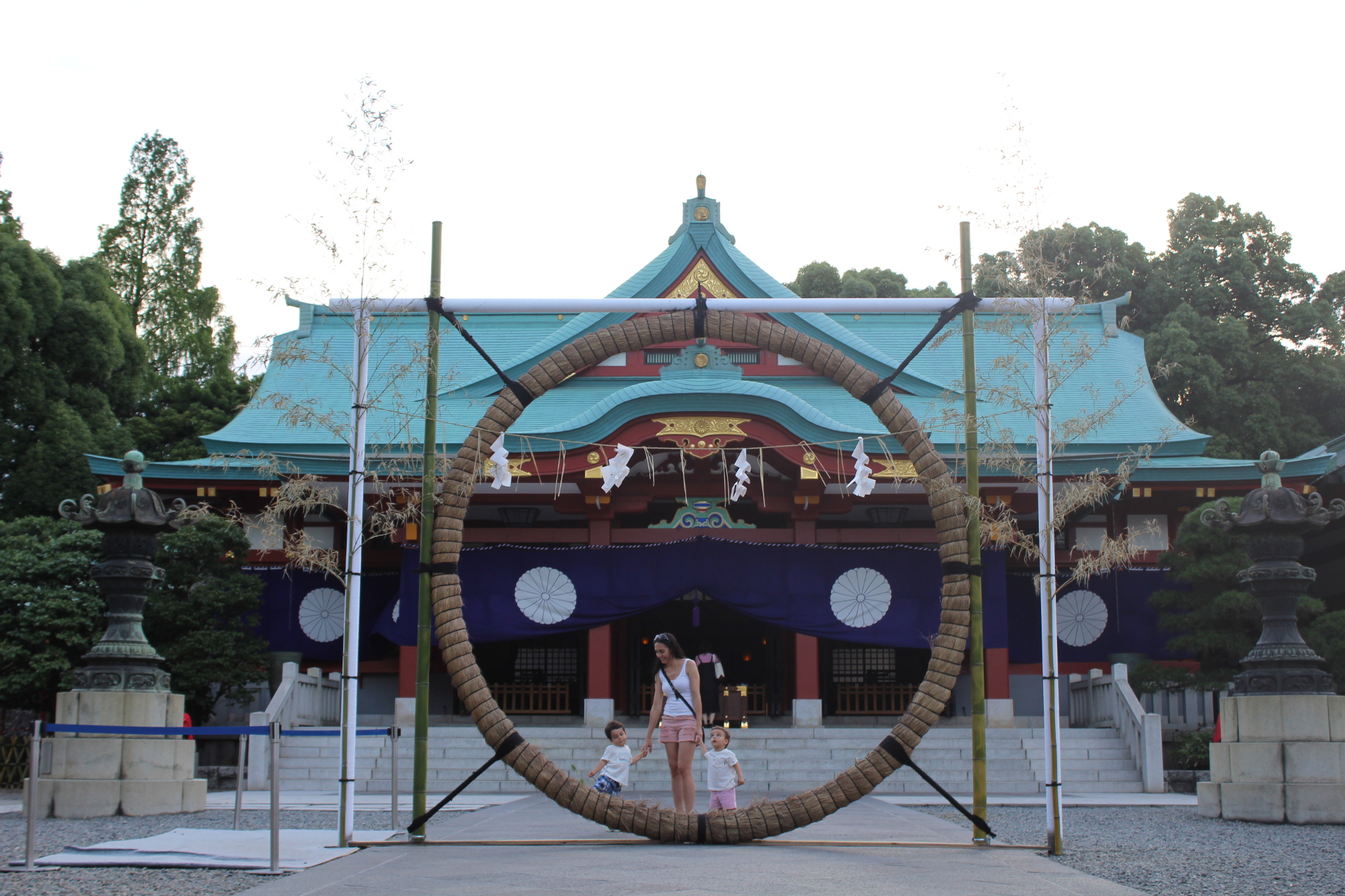Templo Hie - Tokyo