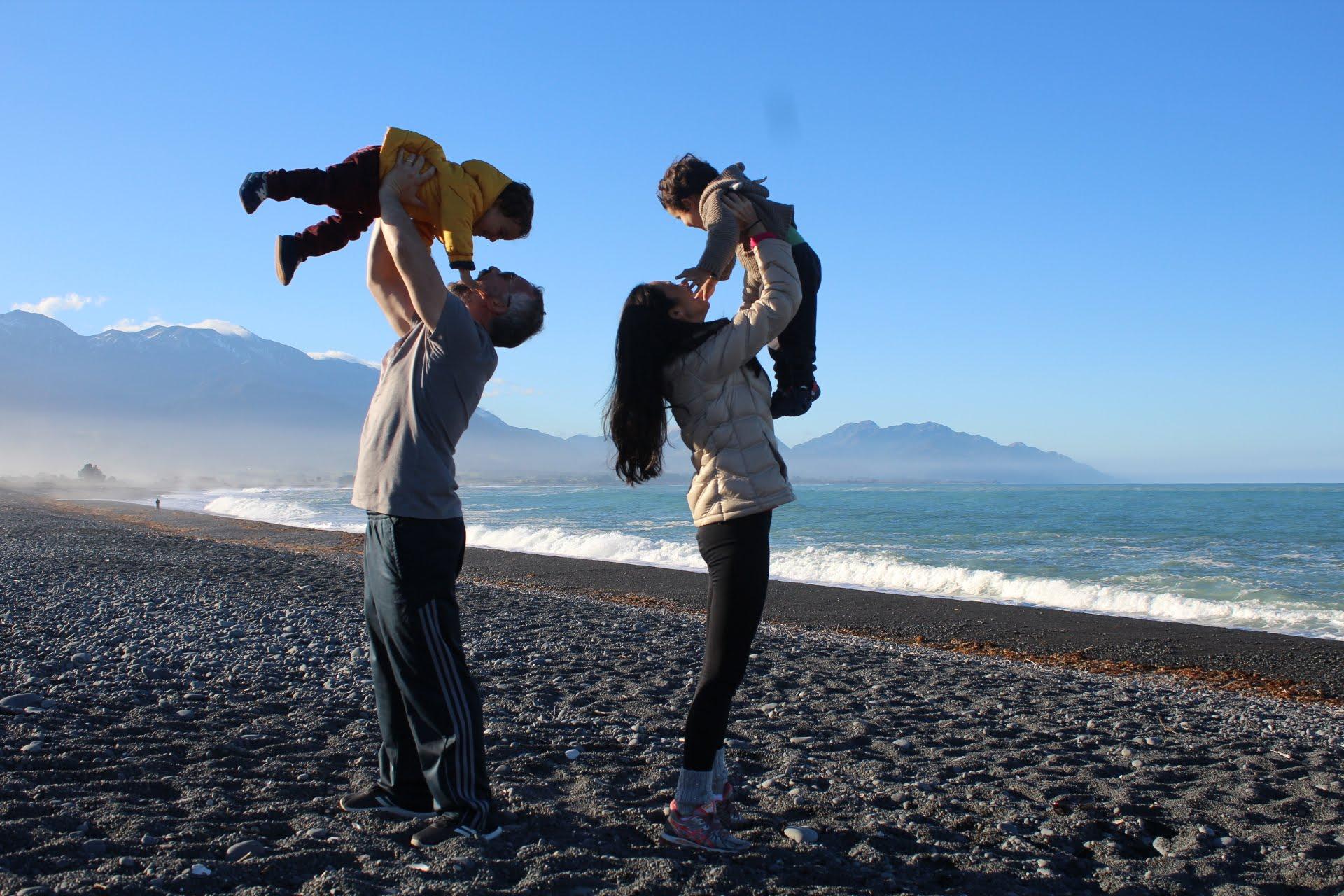 Nova Zelândia - Praia Kaikoura