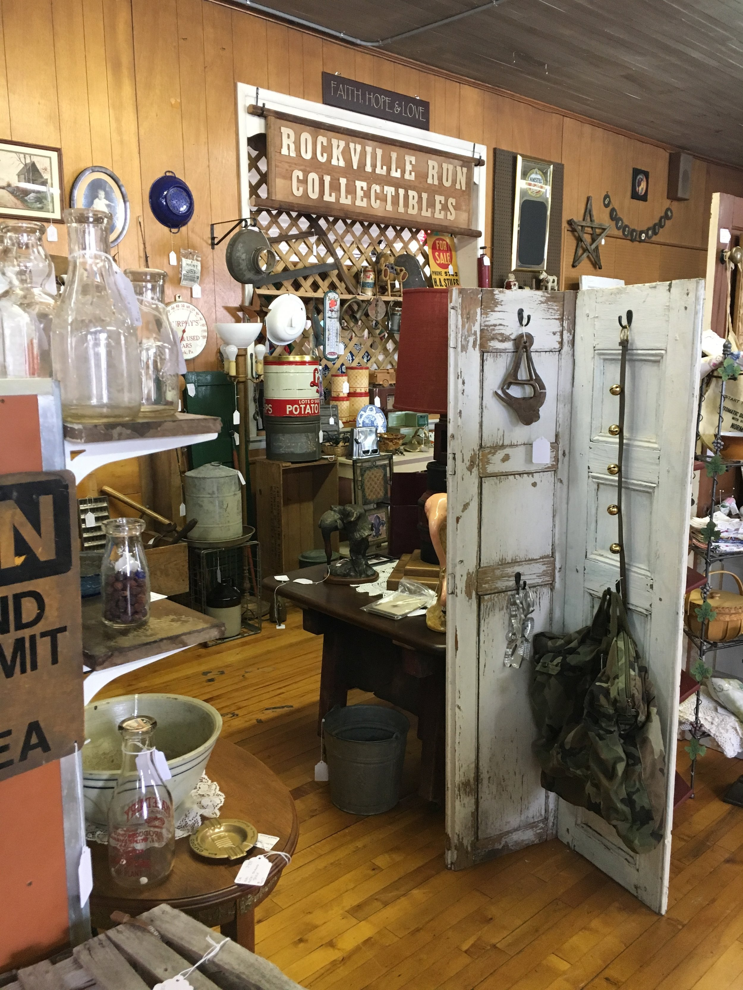 Rockville Run Antiques and Collectibles - An array of beautiful antique pieces