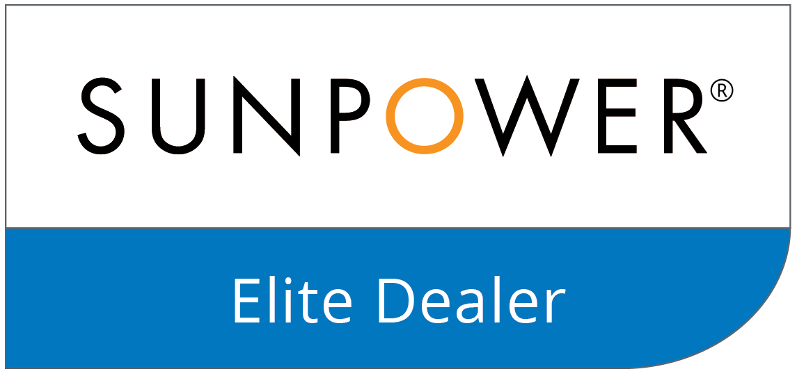 - WE ARE A PROUD ELITE DEALER FOR SUNPOWER® - THE INDUSTRY STANDARD IN SOLAR PANELS.