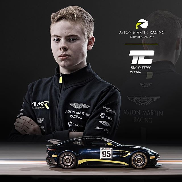 Grid Graphics was delighted to hear the @tomcanningracing recently announced he was part of the @astonmartinracingofficial academy programme this year. Tom looks set to have a great year! Congratulations Tom!  #tomcanning #tc #britishgt #astonmartin #astonmartinracing #tfsport #academydriver #astonmartin