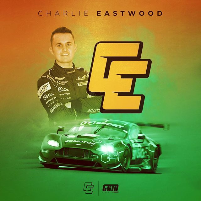 With @blancpaingtseries starting this weekend it's a good time to showcase the recent logo we did for @astonmartinracingofficial junior driver @ceastwood28. Combining his initials into a racey and distinct emblem. Best of luck this weekend Charlie 💪  #CE #charlieeastwood #blancpaingt #tfsport #astonmartin #astonmartinracing #monza #logodesinger #logo #graphicdesigner #graphicdesign #motorsport #racing #gridgraphics