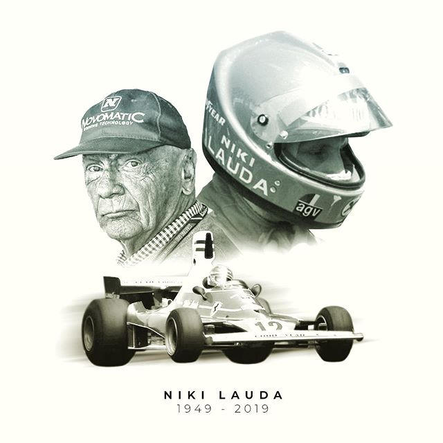 R.I.P Niki Lauda  #nikilauda #nikilaudatribute #f1 #formula1 #formulaone #formulaonelegend #legend